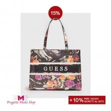 🌺 FLOWER POWER ⚡ La nuova linea di #bag modello shopper by #Guess ti aspetta su ➡ www.progettomodashop.it✨🛍 Scopri i saldi su tutti gli accessori dei migliori brand!😍 Per te il 15% di sconto +10% se sei un nuovo iscritto!🛒  #progettomodashop #borsadonna  #saldi2021 #shoppingonline