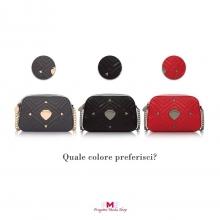 Ma quanto sono belle queste PANDORINE in 3 diversi colori? 🎈TU QUALE PREFERISCI?  #pandorine #progettomodashop #borsegriffate #guess #lovemoschino