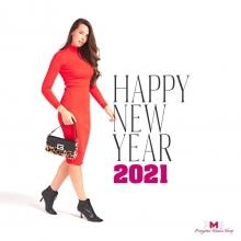 Salutiamo con piacere il 2020,  con l'augurio che il 2021 porti a tutti pace e serenità ❤️  ✨ Buon anno nuovo da Progetto Moda Shop ✨